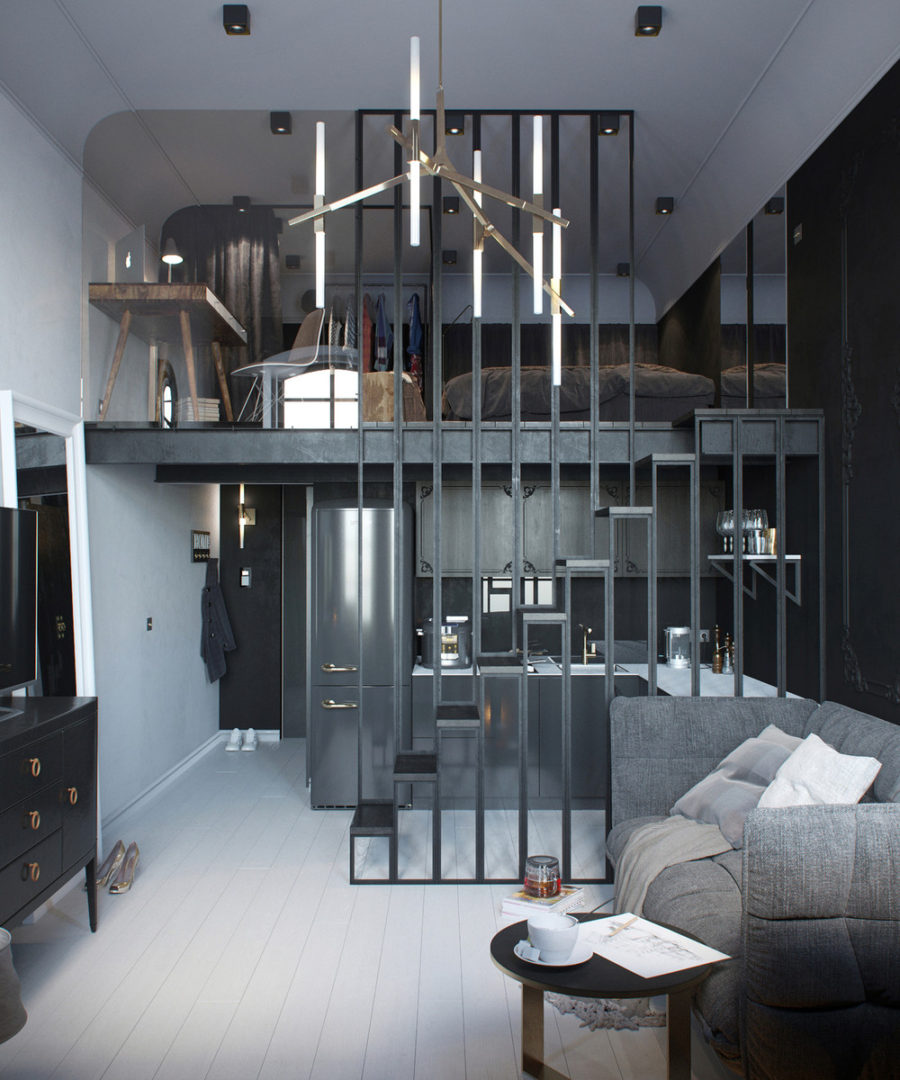 24-square-meter apartment