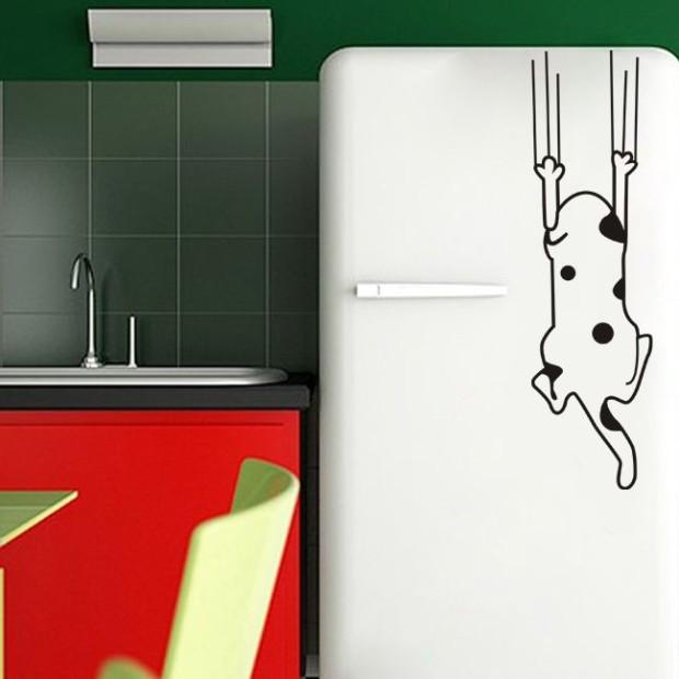 рисунок на холодильник своими руками