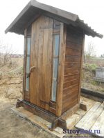 Как сделать деревянный туалет – Деревянный туалет для дачи своими руками